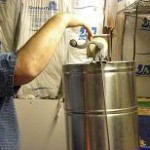 Cranking the extractor