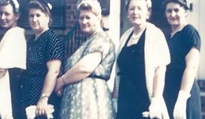 C.K., Elisabeth, Adeline, Mary, Grace - 1934